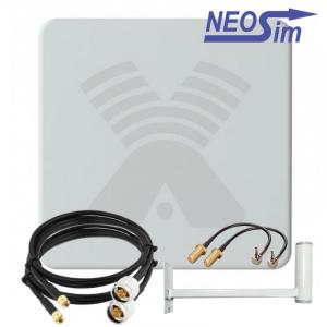 Комплект ANTEX Zeta MIMO для усиления 3G/4G (20 dBi)