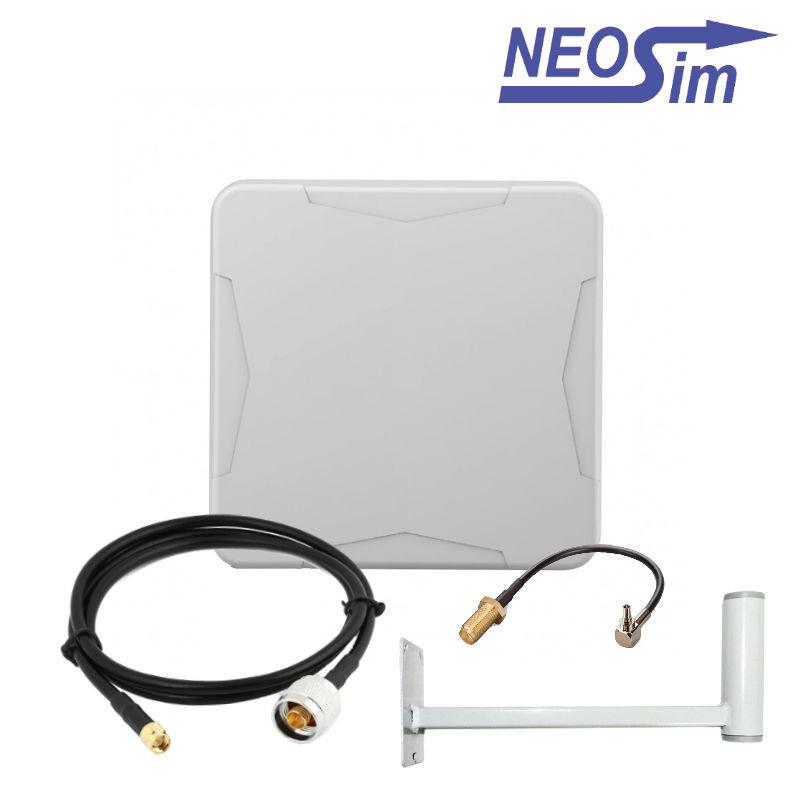 Купить комплект ANTEX Nitsa для усиления 3G/4G (15 dBi) в NeoSim.ru