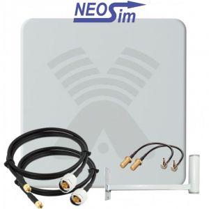 Купить в NeoSim.ru комплект ANTEX Zeta для усиления 3G/4G (20 dBi)