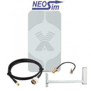 Купить в NeoSim.ru комплект ANTEX Agata для усиления 3G/4G (17 dBi)
