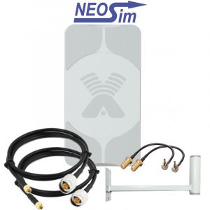 Купить в NeoSim.ru комплект ANTEX Agata-2 MIMO для усиления 3G/4G (17 dBi)